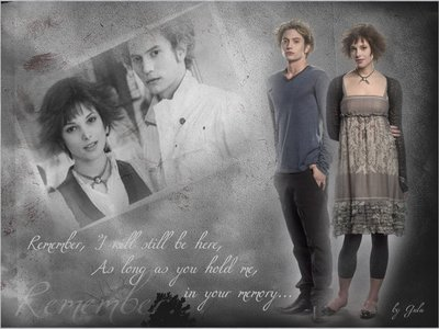 """Jasper, of course. I love him meer since I know his past, """"For the first time in almost a centuries I felt hope."""""""