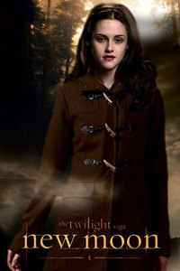 Kristen Stewrat is a very talented actress, and so when Bella matures in New Moon Kristen holds her face differantly, her gestures, body language, it all matters, and I think that she looks great!