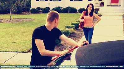 He may have fixed Peyton's car but he fixed Brooke's out of love... and for free