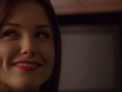 "Totally random! I love this screencap, it's totally the ""Plan to ruin LP worked!"" face. :D"