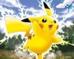 He should étoile, star in an action packed racing game cause'racing games are awsome!!!!!Pikachu's dancing ca