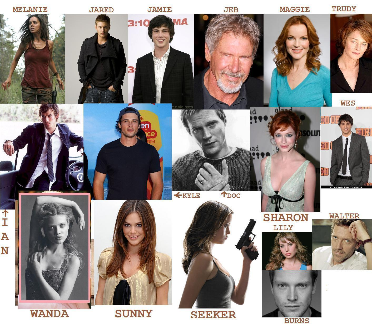 Dream Cast - The Host - Fanpop