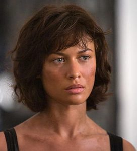 Olga Kurylenko-The Bond girl? I mean Mel&#39;s hair was cut short after Wanda was inserted, wasn&#39;t it?<br