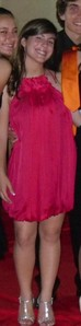 Hy girls :D I show you a picture of me in my senior prom, tell me your opinion about the dress :P