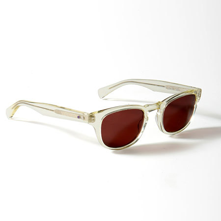 Paul Smith and Oliver Peoples 'clear-framed sunglasses""