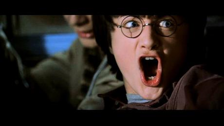 Harry in Chamber of Secrets! lol