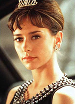 J - Jennifer Amore Hewitt portrayed her in the TV movie 'The Audrey Hepburn Story'