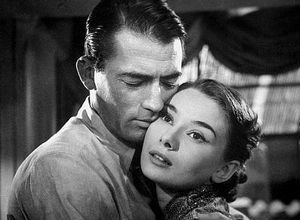 P - Peck, Gregory (her co-star in &#39;Roman Holiday&#39;)