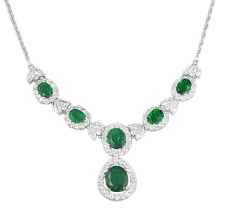 J - Jewelry, an पन्ना हार from the elizabeth Taylor jewelry collection