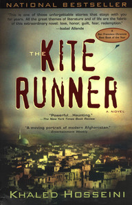 been reading THE KITE RUNNER by Khaled Hosseini. really good if you've seen the movie and liked it, i