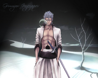 """""""looks like your former student seems pretty upset about you leaveing."""" grimmjow said walking in. Aiz"""