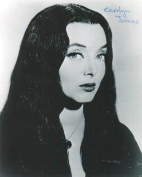 C - Carolyn Jones, Morticia