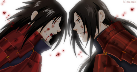 O HELL NO! MADARA PWN'S OVER ITACHI! =] madara is my uber smexy funky hunky monkey