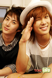 My Fave members are Tom and Jerry [Jungmin and Hyung Joon]