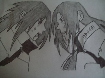here is madara vs the 1st hokage!!!! i dnt think it looks that good!!!!