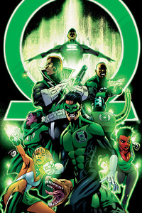 i wanna be a green lantern!!!