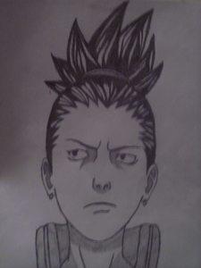my drawing of Shikamaru!!!!