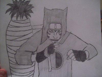 my drawing of Konkuro!!!!