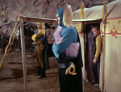 """Kirk: """"I think I'm on the wrong show. What are these teletubbies doing here?"""""""