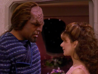 """I'll start Worf: """"I'm not your teddy bear"""""""