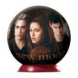 I couldn't find a trash can so i thought i'd just find something weird, a New moon puzzle ball.