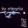 3. The original U.S.S. Enterprise NCC-1701. (No bloody A, B, C, D, E!): because bạn can go where no