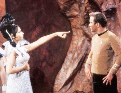 Best spot:Star trek TOS http://www.fanpop.com/spots/star-trek-the-original-series Video:''The gre