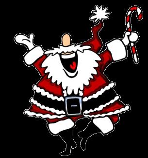 Z - Zany Santa lol !!!
