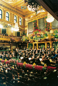 O-Orchestre - in my house it's a tradition to listen every tahun to vienna's Krismas symphonic orche