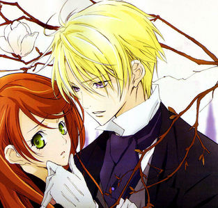 Sorry but I only have picture of Edgar with Lydia. <br /> I want Hayate Ayasaki wearing girls&#39; dress