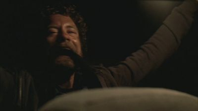 Well I've looked through all the screencaps, and I can only find a picture of hodgins face while he's