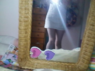 OK fine, I'll start =D I upendo this dress but it has become really short on me. Is it just TOO short