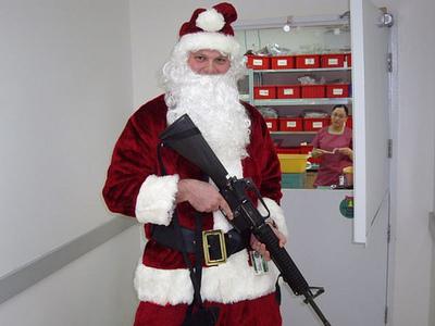 Santa got his đít, mông, ass shot off in Compton Santa got his đít, mông, ass shot off in Compton While tending to his bu