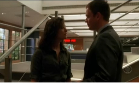 Thanks! :) Okay I would like a picture of Ziva's husband talking on the phone! (if te know what I me