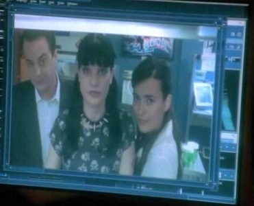 Hope this is ok, she doesn't smile much too jealous!! Can i get a pic o Tony trying to comfort Ziva