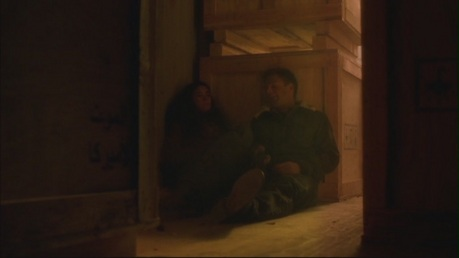 Sorry te can't really see anything :( I would like a picture of them in any scene in 'Cloak'.