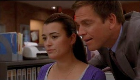 Hope this is ok!! Can i have a pic of Ziva when she spots the pics of her in his room in Agent Afloa