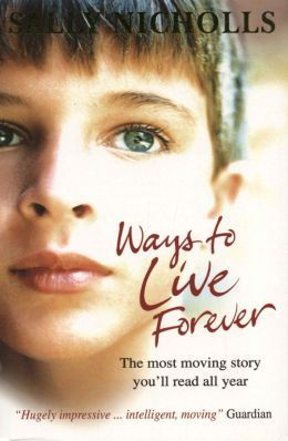 Hi guys! I thought I'd post one of my favourite boeken up. Ways to Live Forever is one of the most