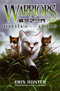 Also heres another book! its a guide called Battles of the clans! i think Blackstars on the cov