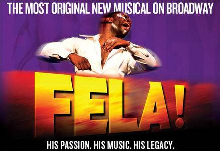 "SHAWN ""JAY-Z"" CARTER, WILL SMITH and JADA PINKETT SMITH present FELA! on Broadway FELA! is the"