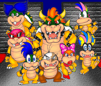 Who here remembers the koopalings from Super Mario Bros. 3, or from any other thing. I heard they are