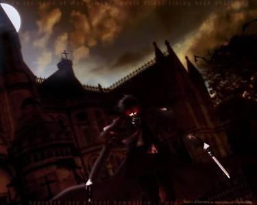 indicii despre identitatea lui alucard ca si dracula. 1-numele citit invers este dracula 2-in ultim