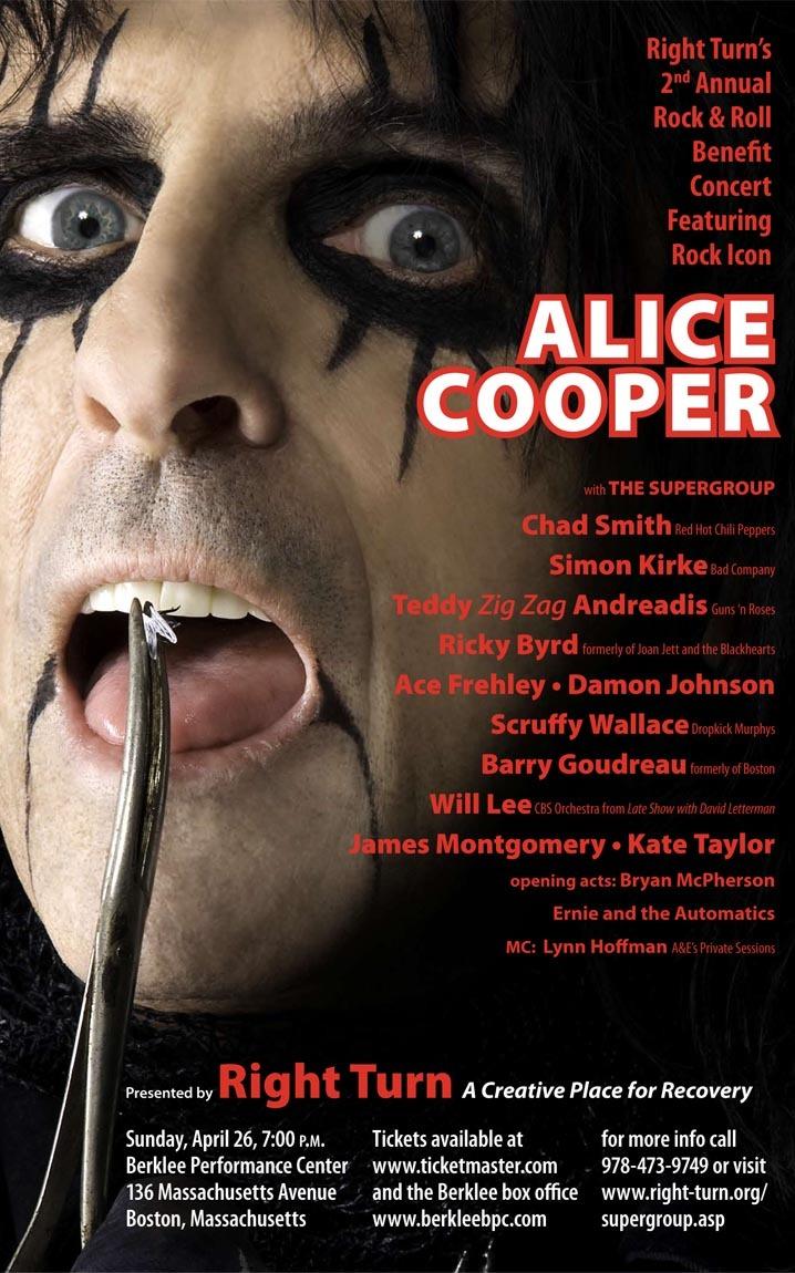 Alice Cooper Is Coming To Boston April 26th Alice