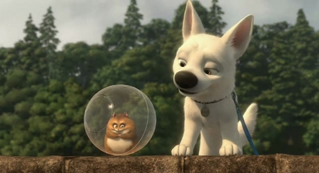 http://www.imdb.com/title/tt0397892/ To read about Bolt Movie and characters
