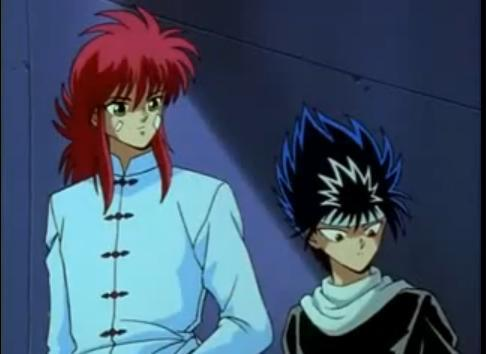 hiei and kurama wallpapers.  after all they've been through kurama is the closest to hiei afterall,