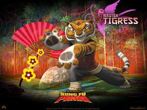 Kung Fu Panda character Master 母老虎, 虎妞 Species: South China Tiger Combat style: Tiger Kung Fu Voice