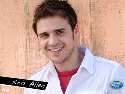 """""""Kris Allen"""" Kris Allen rocks He should have won And he did!! YAY"""