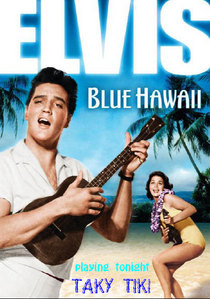 The Strand Theater, Zelienople, in honor of The King's birthday is screening Blue Hawaii on January 8