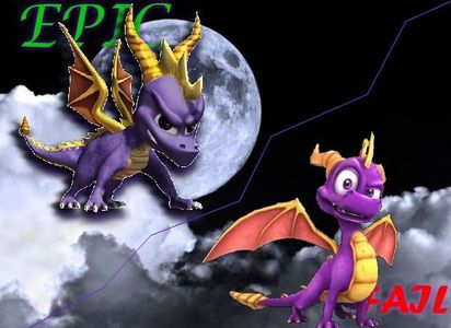 The Legend of Spyro was the most horrible thing a company could do to their series,