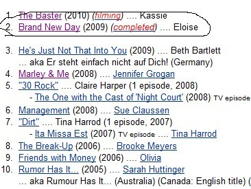 """According To Imdb, the upcoming Movie """"Traveling"""", has now a new name- """"Brand New Day"""" I Can´t Wait"""